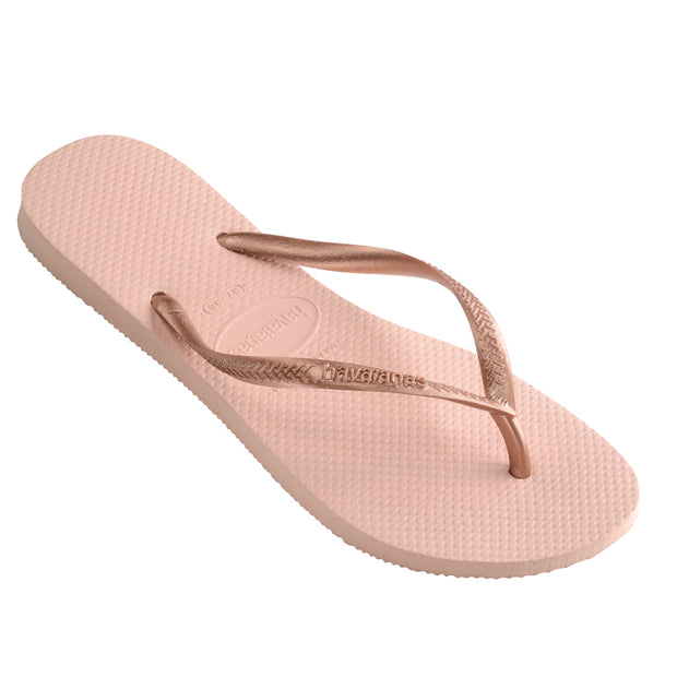 KIDS SLIM METALLIC BALLET ROSE