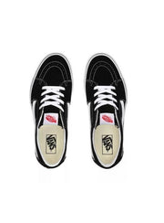 SK8-LOW BLACK/TRUE WHITE