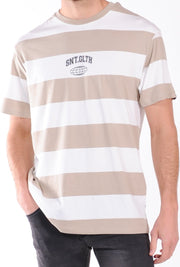EQUATE STRIPE TEE