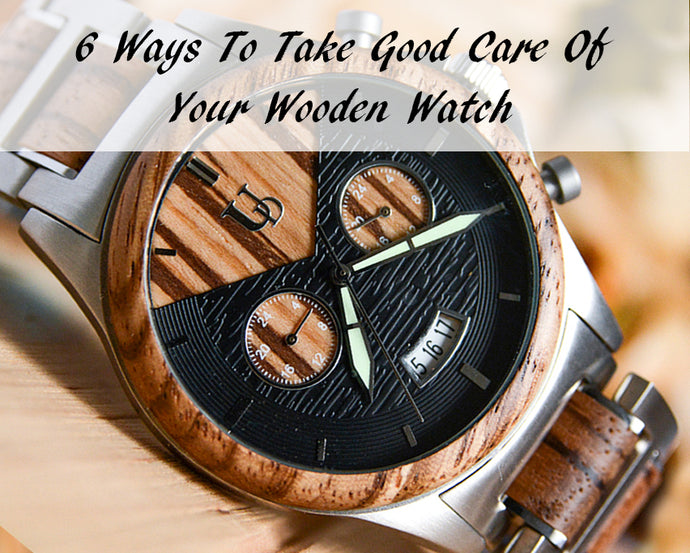 Tips on How to Care for Your Wooden Watches