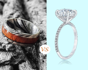 Get a Wooden Wedding ring or Diamond ring?