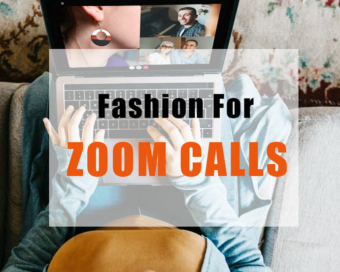 Best Wooden Jewelry Made for Zoom Calls