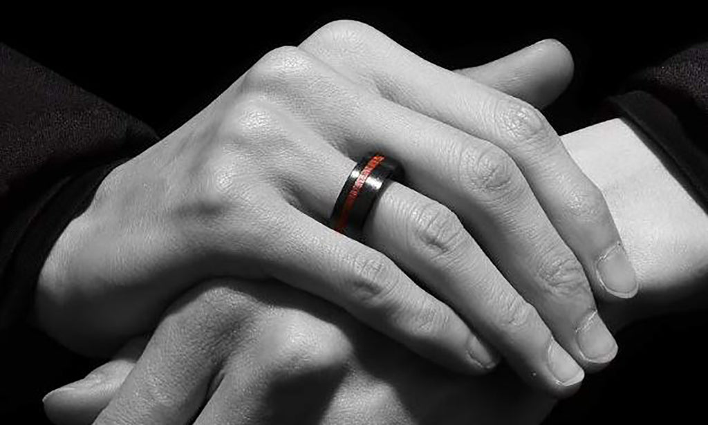 wood wedding bands perfect choice for your man