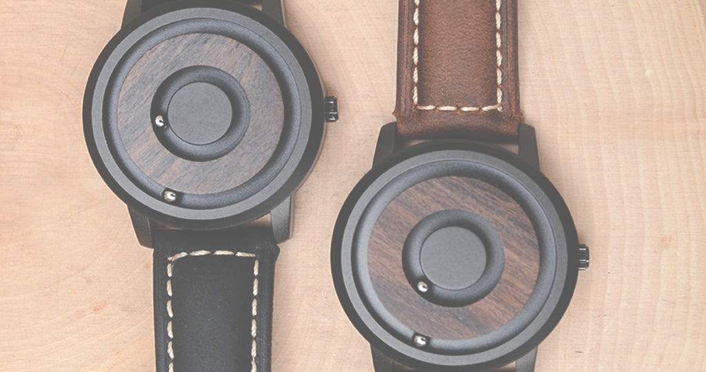Scaleless Magnetic Wooden Watch-banner
