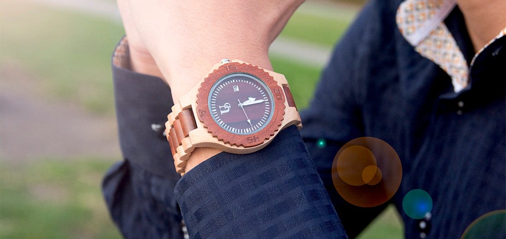 wooden watches - Urban Designer