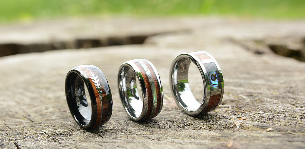 wooden rings by urban designer