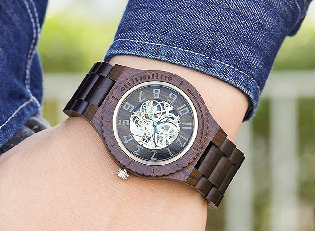 traditional wooden watches