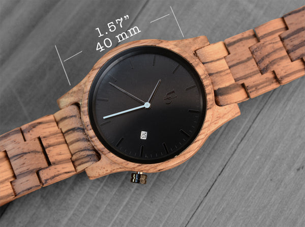 ud wood watches- urban designer engraved watches