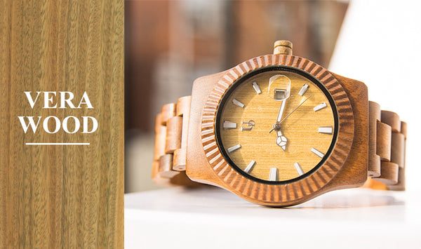 vera wood watches