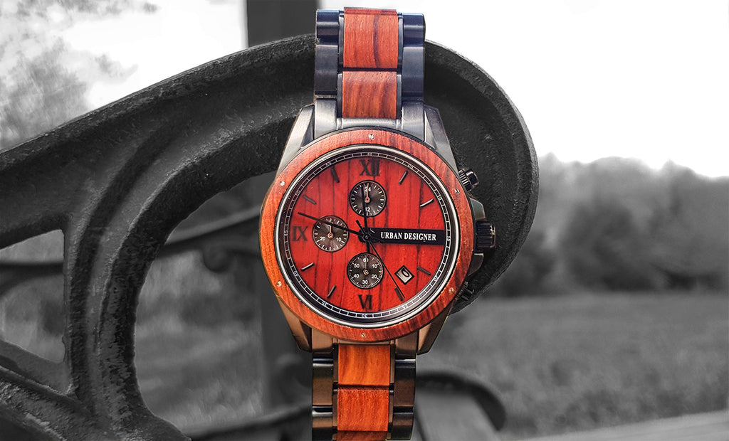 wood watches by urban designer- eco friendly gifts