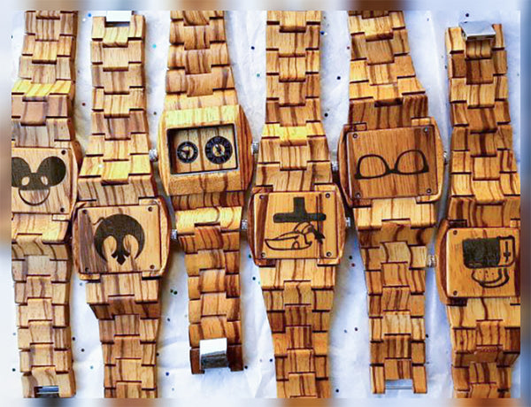 wooden watches for groomsmen