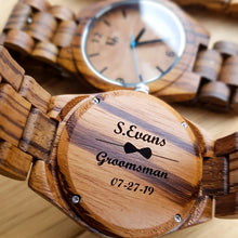 Best groomsmen gift-UD engraved wood watches