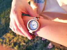UD Womens Wooden Watches with Premium Leather Strap