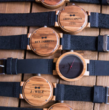Personalized Groomsmen Gifts - Engraved groomsmen watches by urban designer