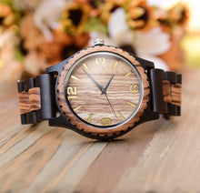 UDX Engraved Wood Watch For Men