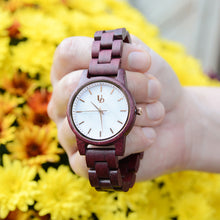 UDX Rose Wooden Watch For Women