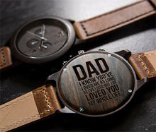 fathers day gift- engraved wood watches