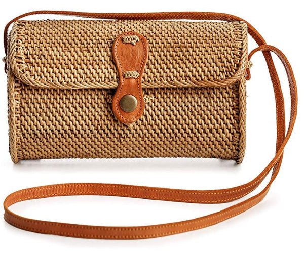 Womens Handmade Fashion Rattan Bag