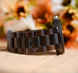 Gifts For Groomsmen - Engraved  Groomsmen Wooden Watches