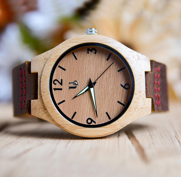 personalized wood watch-anniversary gift-gifts for men-best groomsmen gifts