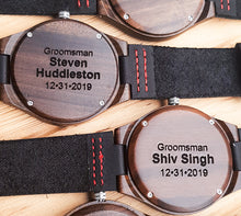 Best Groomsmen Gifts - Groomsmen Watches With Personalized Engraving