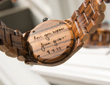 A personalized anniversary gift for him, made from reclaimed wood from Urban Designer.