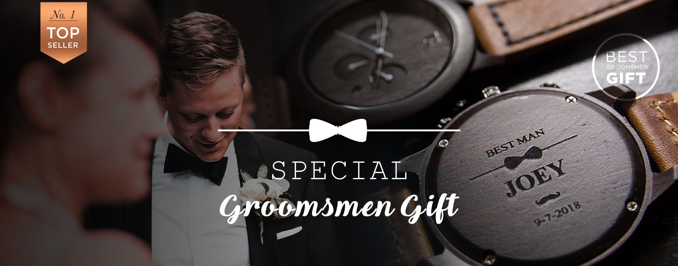 personalized groomsmen gifts engraved wooden wacthes