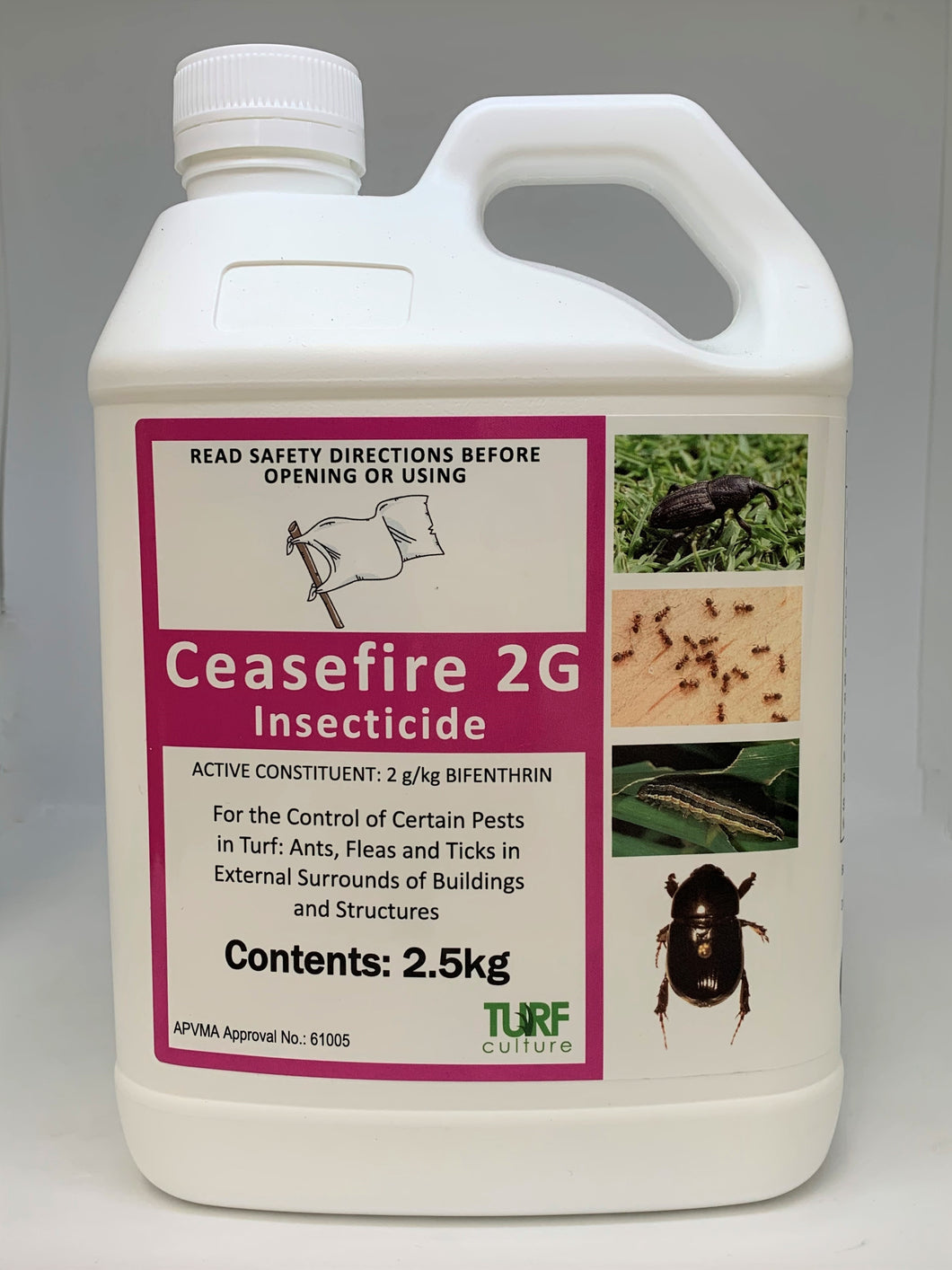 Ceasefire 2G Insecticide 2.5kg
