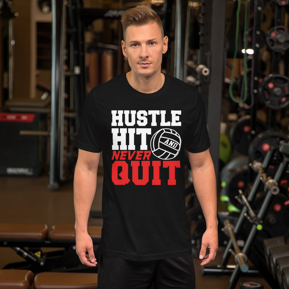 HUSTLE HIT Short-Sleeve Unisex T-Shirt