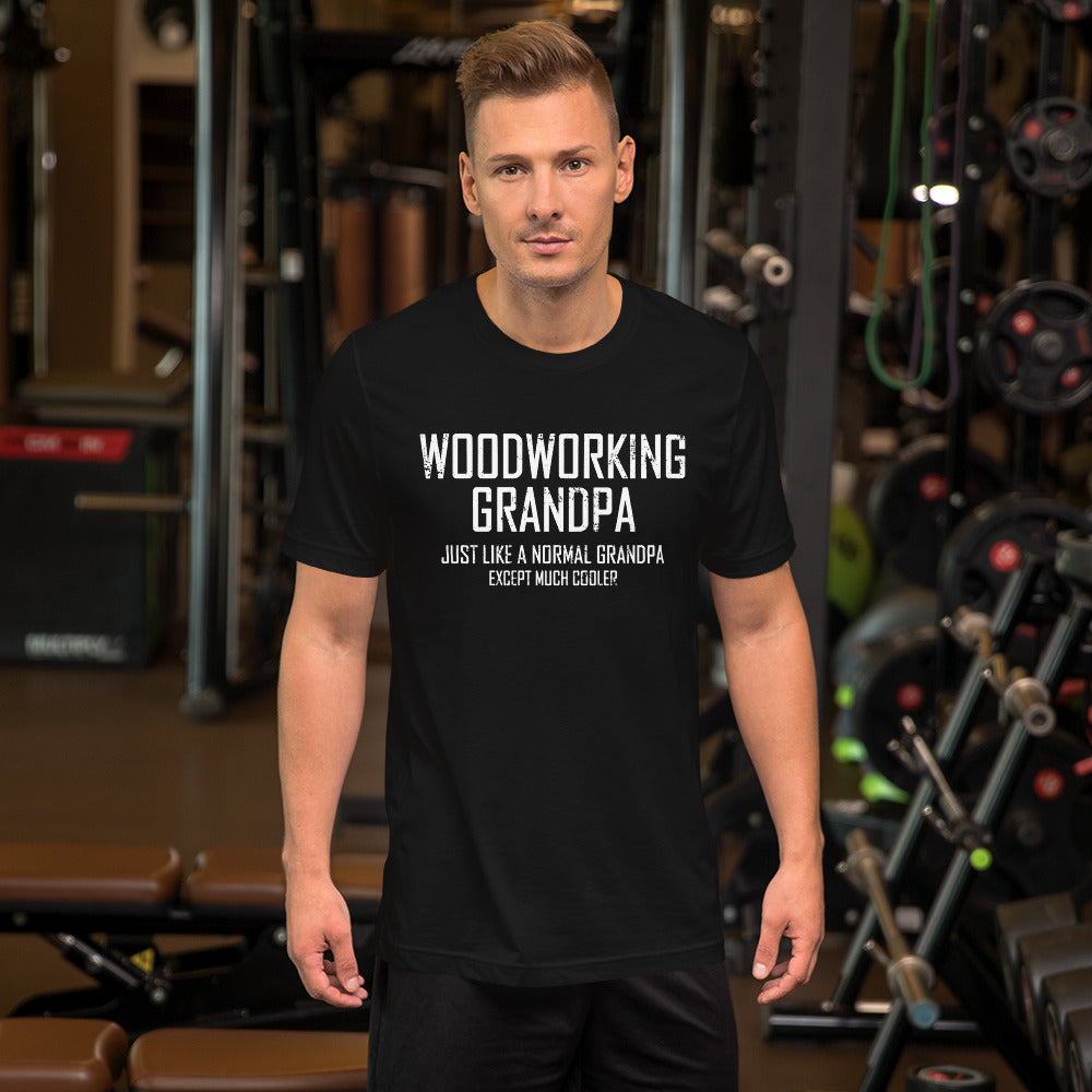 Woodworking Grandpa Short-Sleeve Unisex T-Shirt