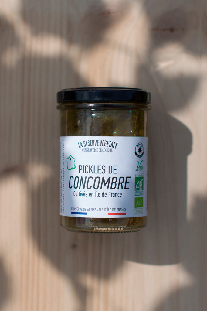 Pickles de Concombre d'Île de France