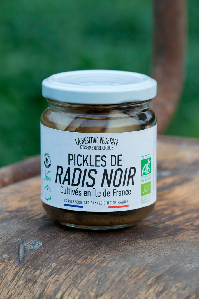 Pickles de Radis Noir d'Île de France