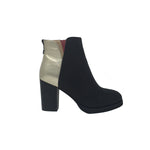 Nolita Leather Boots Black Gold