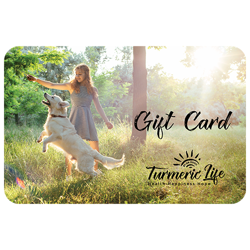 Turmeric Life Gift Card for presents