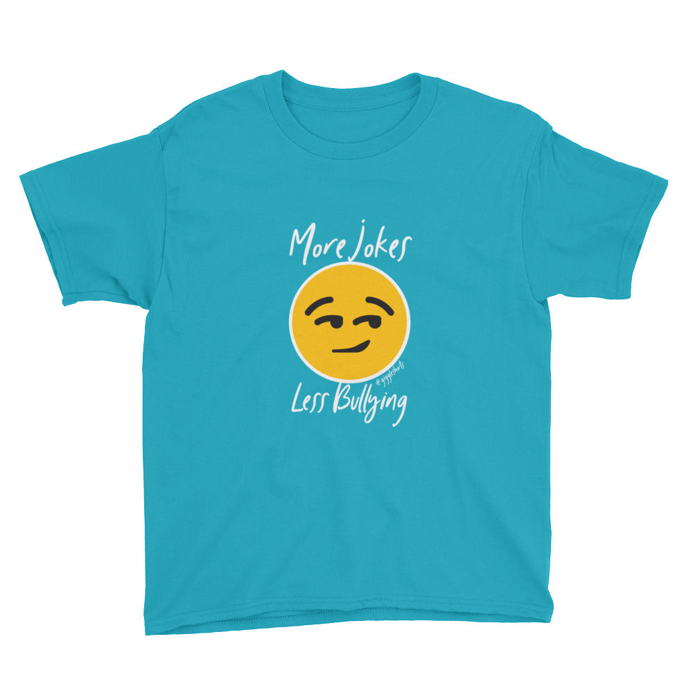 More Jokes, Less Bullying Youth Short Sleeve T-Shirt