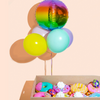 Easter Gift Box With Balloon Bouquet