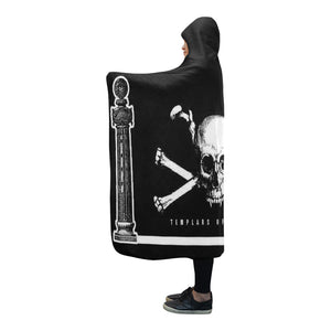 "Resistance ""Temple Smoke"" Hooded Blanket"