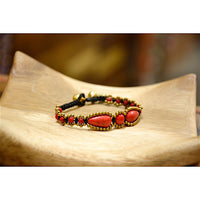 Pulsera Golden Red