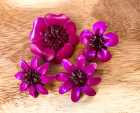 Broches fucsia