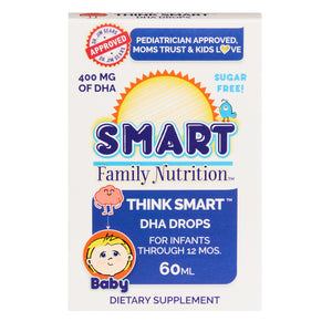 Think Smart™ DHA Drops - FAMILY PACK