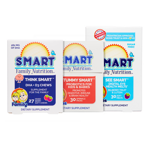 Smart Bundles™:  DHA Chews + Probiotic Sprinkles + Vision Health
