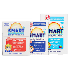 Smart Bundles™:  DHA Drops + Probiotic Sprinkles + Vision Health