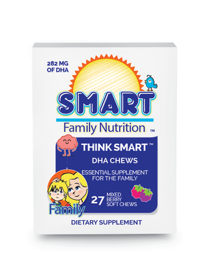 Think Smart™ DHA + D3 Chews - FAMILY PACK