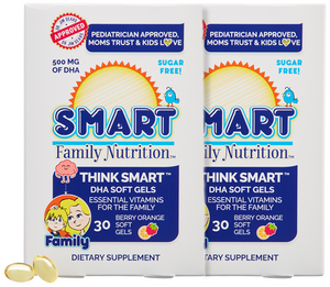 Think Smart™ DHA Soft Gels - Monthly Supply