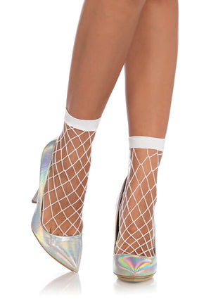 KIKI FISHNET ANKLET - Made For Curves