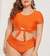 Chantel Crop Top High Waist Bathing Suit - Made For Curves