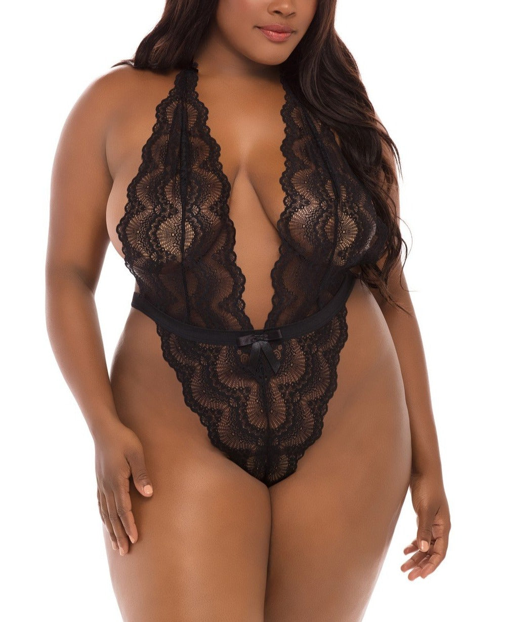 Alessa Lace Teddy - Made For Curves