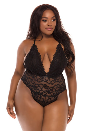 JEANA STRAPPY LACE TEDDY