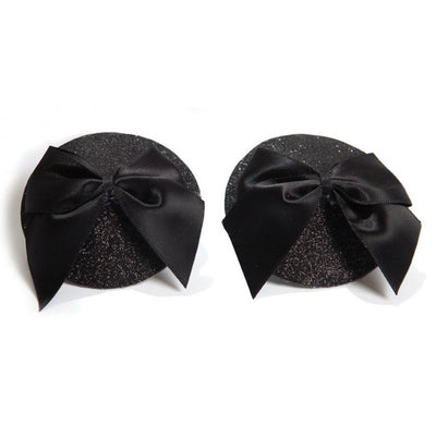Bijoux Indiscrets Glitter Bow Pasties - Made For Curves