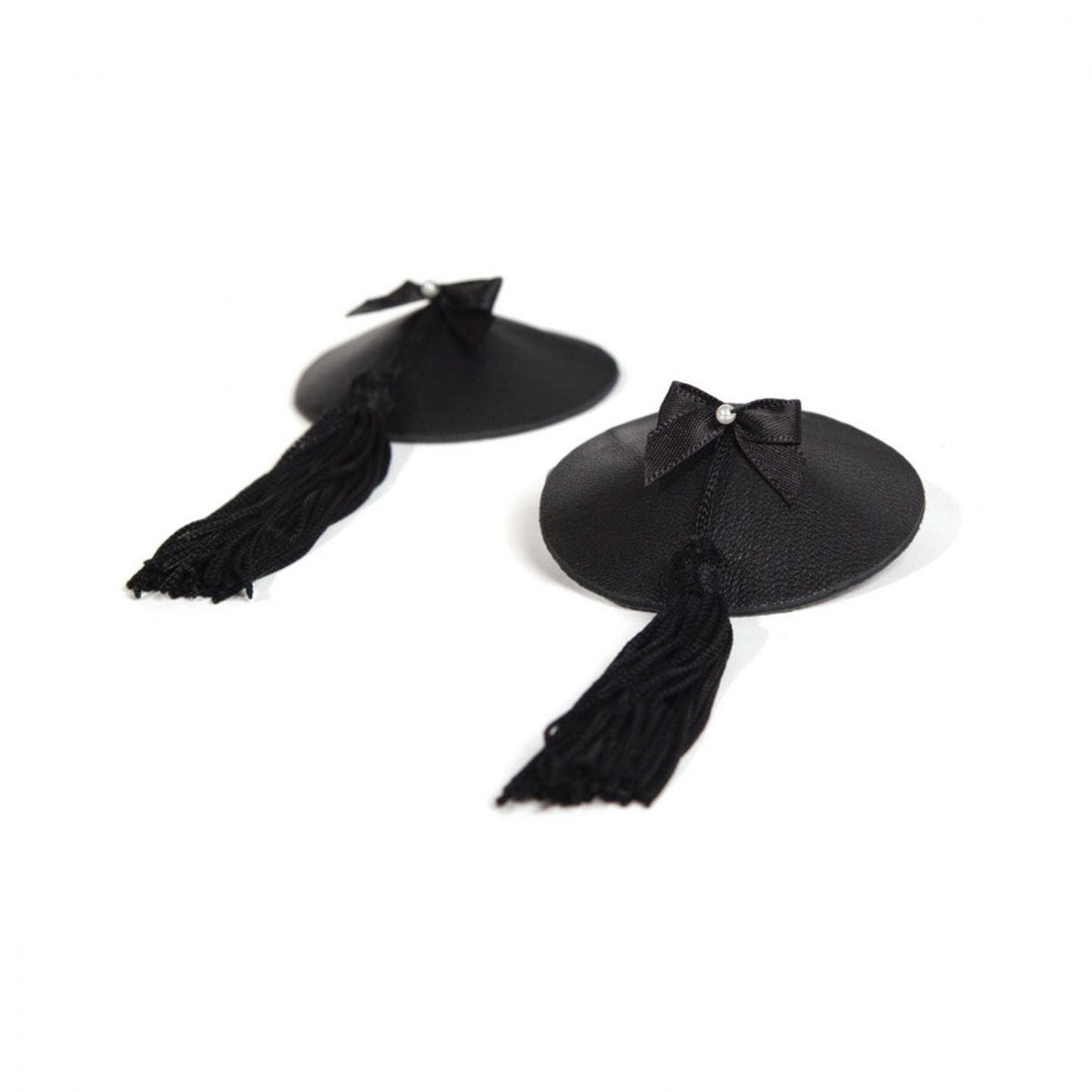 Bijoux Indiscrets Burlesque Pasties Black - Made For Curves